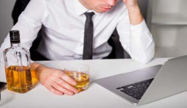 alcohol shakes