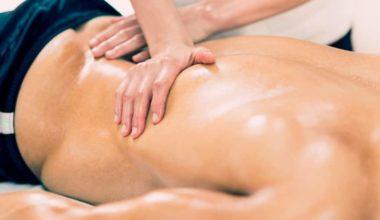 soreness after a massage