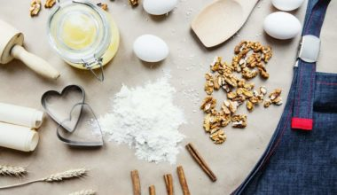 essential baking ingredients