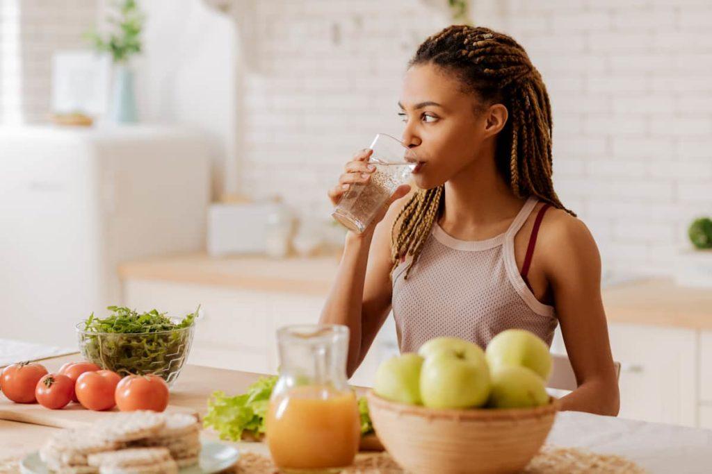 Consume vitamin C with iron