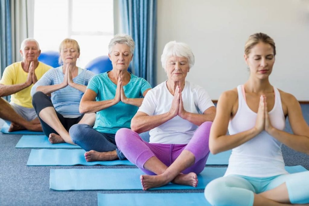 You Can Do Yoga with the Older Adults in Your Family