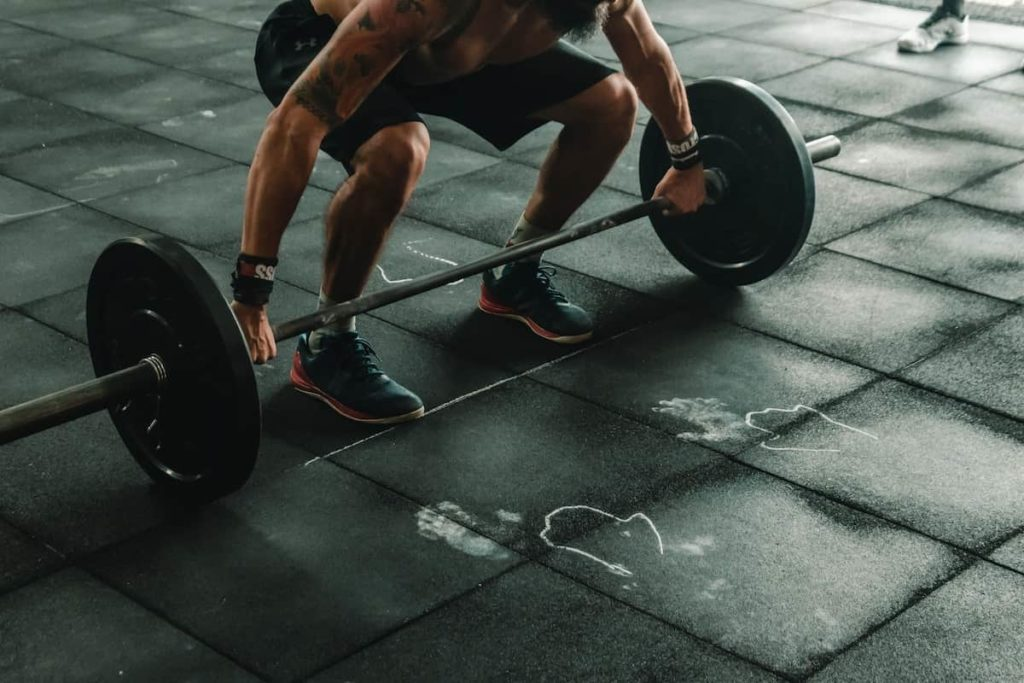 Strength training goes hand-in-hand with a diet
