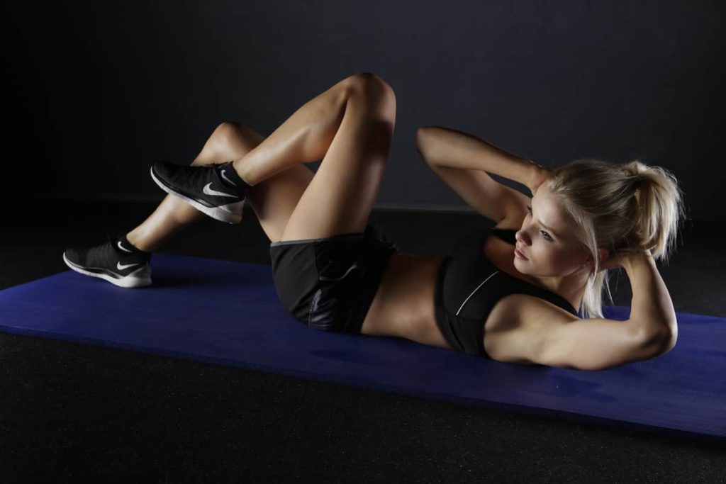 What happens when you exercise too soon after eating